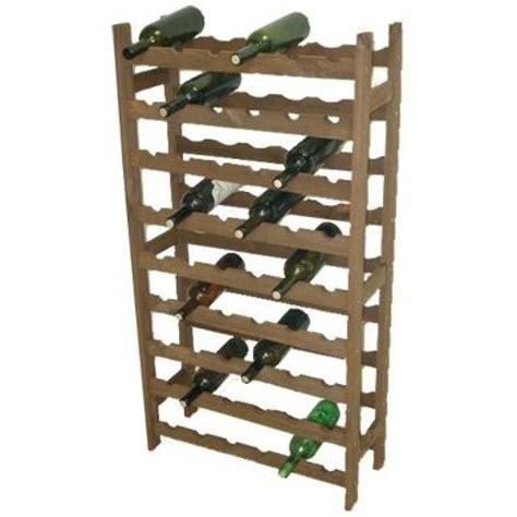 scaffale portabottiglie cantinetta portabottiglie in legno da 54 posti ideale