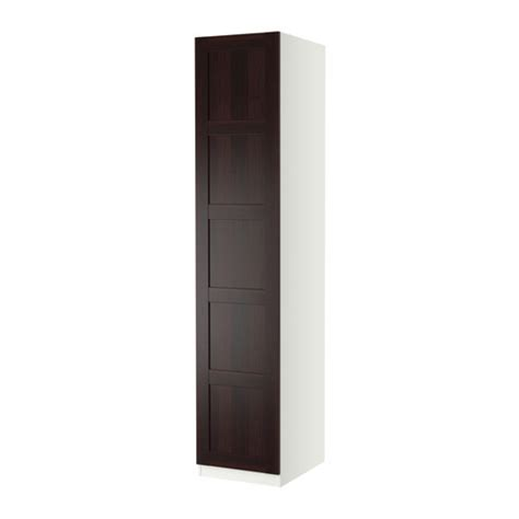Pax Wardrobe Door by Pax Wardrobe With 1 Door Bergsbo Black Brown White