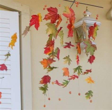 fall decor crafts easy fall leaf projects family - Crafts For Fall Decorations
