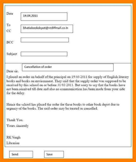 Format Email For Essay | 7 email writing format exle emmalbell