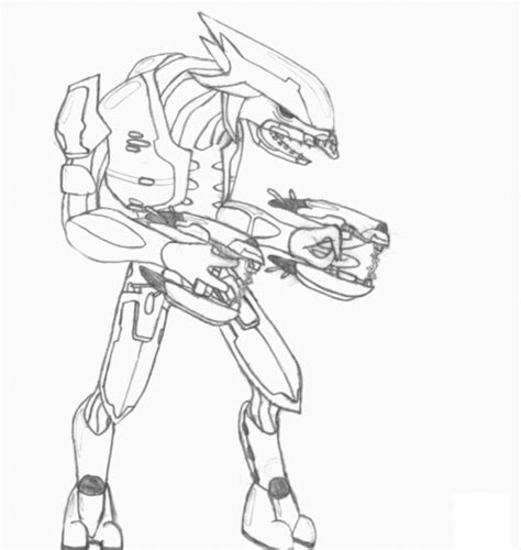 free halo 5 coloring pages