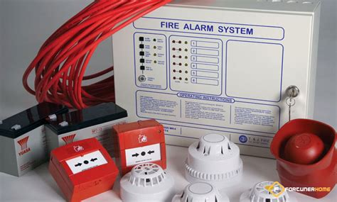 how to wire a house alarm how to install fire alarm system for house fortunerhome