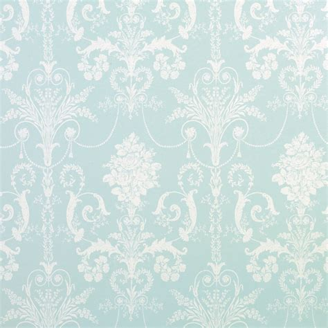 blue patterned wallpaper uk laura ashley josette duck egg blue french inspired