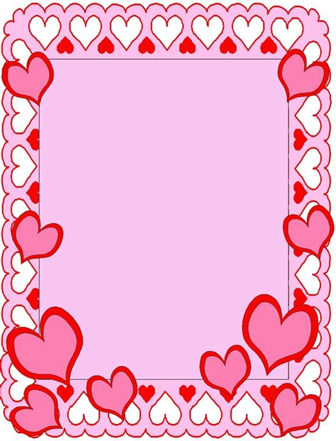 day frames border frame valentines day