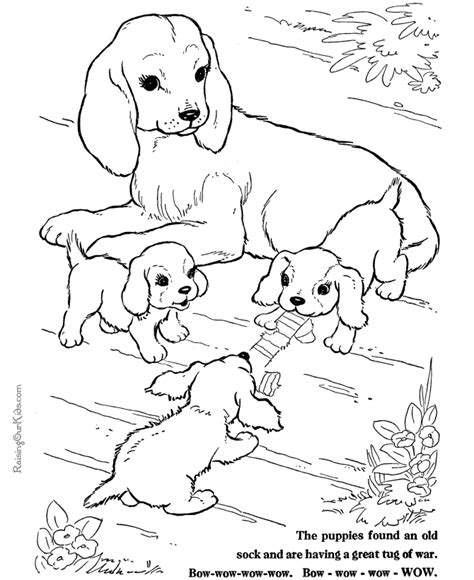 coloring pages with multiple animals puppy world cute puppy pictures to print
