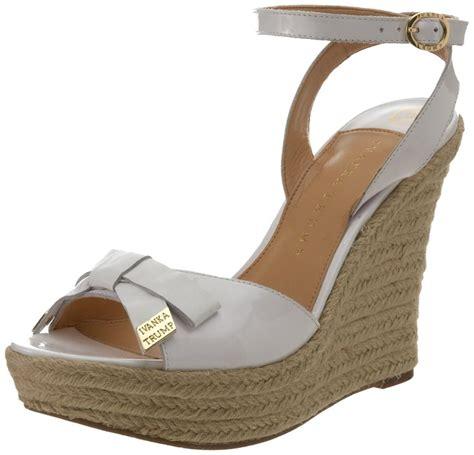 beautiful ivanka wedge sandals summer