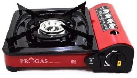 Kompor Gas Progas jual progas kompor gas portable 1 tungku merchant murah