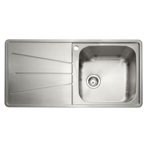 inset sinks kitchen stainless steel caple blaze 100 1 0 bowl inset kitchen sink sinks taps com