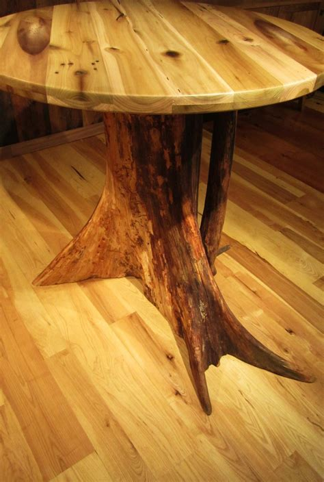tree trunk bar top dining table tree trunk dining table