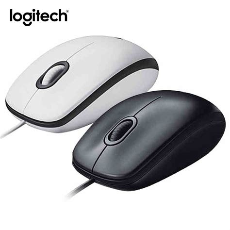 Mouse Logitech Buat Laptop original logitech m100r wired optical gaming mouse rechargeable ergonomic computer mice both