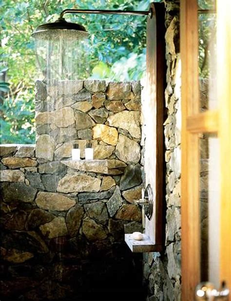 Out Door Showers 20 Irresistible Outdoor Shower Designs For Your Garden