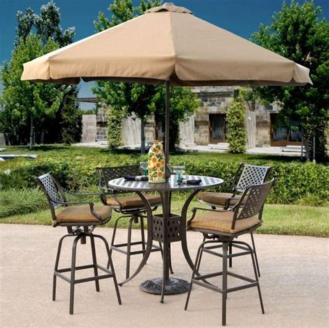 Patio Table With Umbrella And Chairs Outdoor Table Chairs Umbrella Chairs Seating