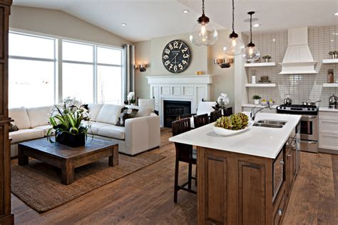 Kitchen Great Room Designs The Hawthorne Kitchen Great Room Traditional Kitchen Calgary By Cardel Designs