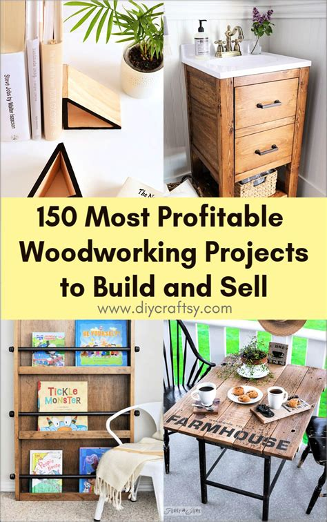 gathered profitable woodworking projects