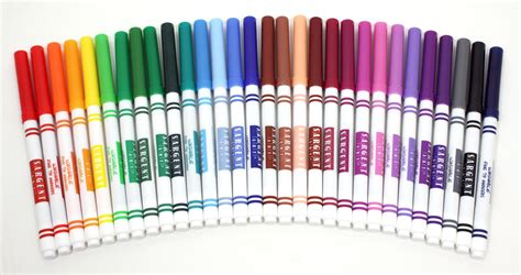 color markers sargent 22 1583 30 count washable