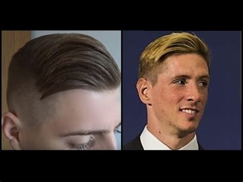 Fernando Torres Hairstyle by Fernando Torres Inspired Haircut S Football Player