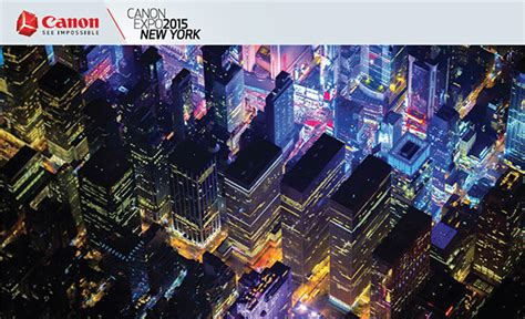 convention york 2015 free tickets to canon expo 2015 new york the photo brigade