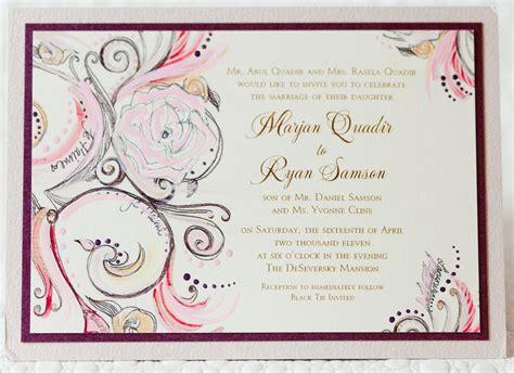 styles wedding invitations wedding invitations wedding invitation wording inside