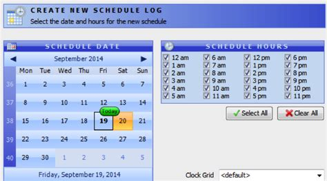 radio station schedule template foneinternet