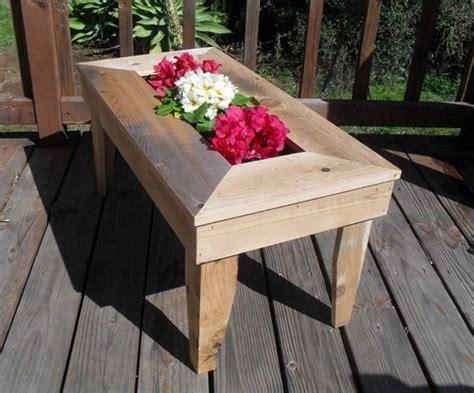 Handmade Patio Table - custom made handmade cedar patio table will wow your