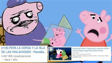 imagenes animadas youtube las versiones macabras de peppa pig se infiltran en los