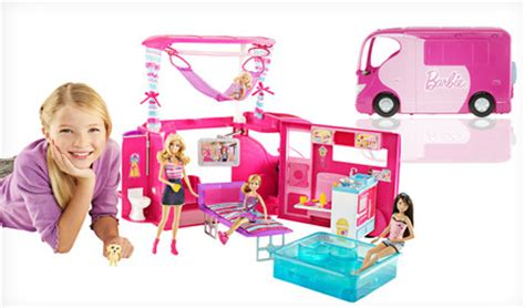 barbie glam boat walmart mattel barbie sisters go cing cer only 49 reg