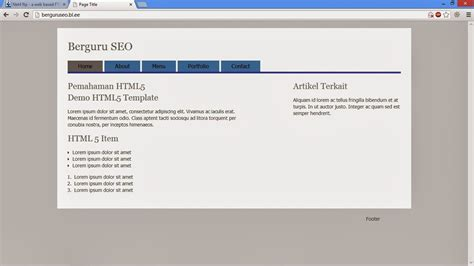 cara membuat website sederhana bagi pemula cara membuat website sederhana untuk pemula dalam 5 menit