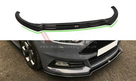 Forte Foundation Mba Launch Review by Front Splitter V 3 Focus St Mk3 Facelift Model Car