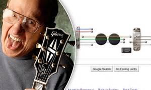 doodle les paul les paul doodle guitar pioneer honoured with