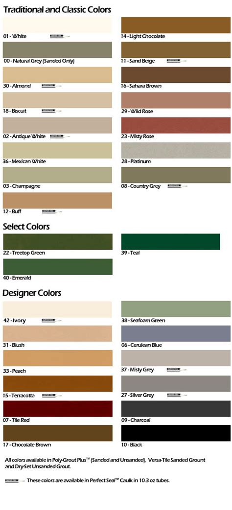 power grout colors pin grout colours on