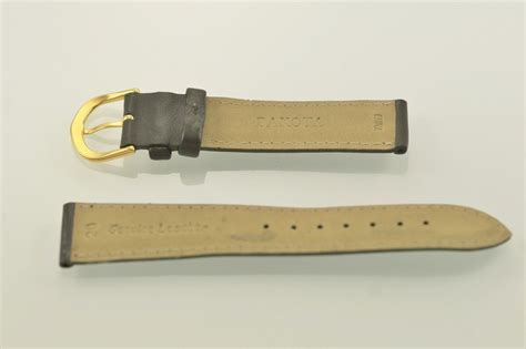 dakota bands dakota unisex chocolate brown leather replacement
