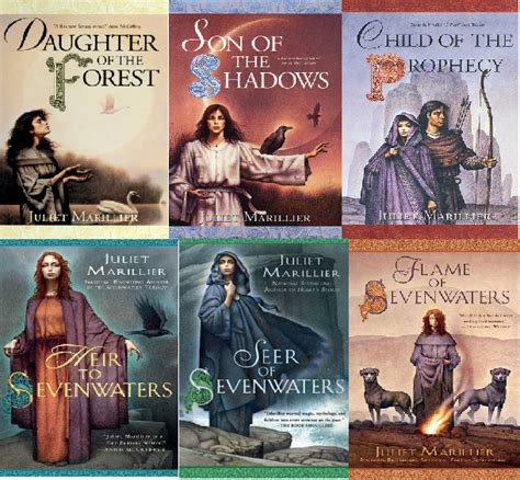 the seven book series juliet marillier author of of sevenwaters