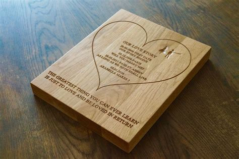 engraved wooden wall plaques makemesomethingspecial com