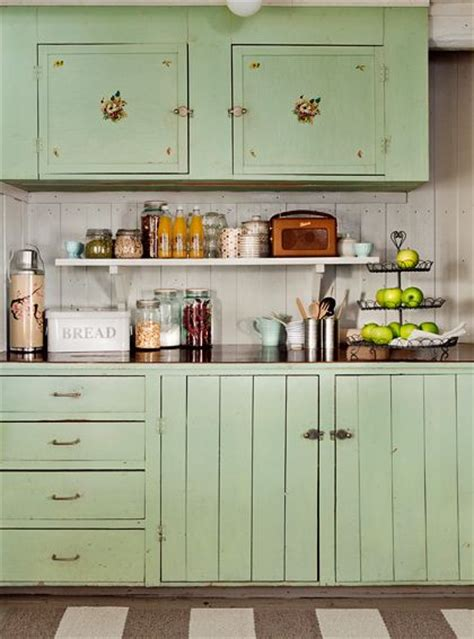 antique green kitchen cabinets 25 best ideas about vintage kitchen cabinets on pinterest