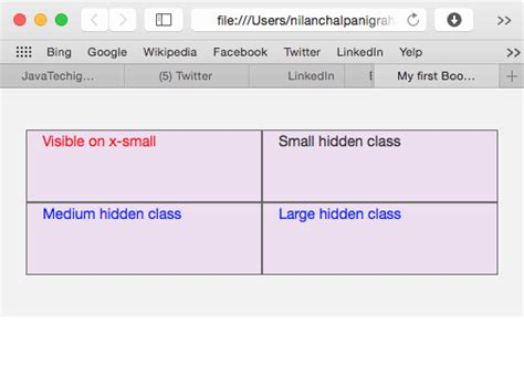 bootstrap adaptive layout bootstrap responsive classes for building adaptive layouts