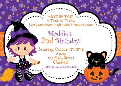 printable halloween themed birthday invitations halloween party invitation witch halloween birthday party