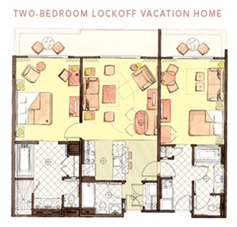 Kidani Village 2 Bedroom Villa Floor Plan Alan