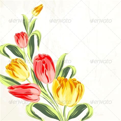 design powerpoint bunga background ppt bunga tulip 187 dolunai com