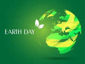 Earth Day PPT Backgrounds   3D, Green, White Templates