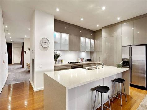 open plan kitchen ideas modern open kitchen on the dining area creative tips and tricks to make your kitchen spacious