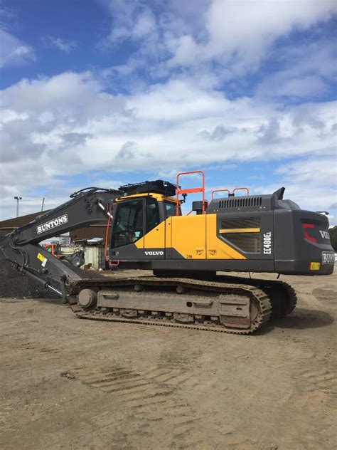 volvo ec    wheeled excavators year  price    sale mascus usa