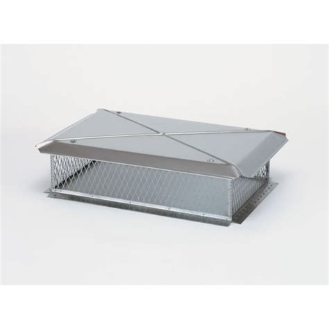 Fireplace Cap by Gelco Model E 17 In X 58 In Base Stainless Steel Multi