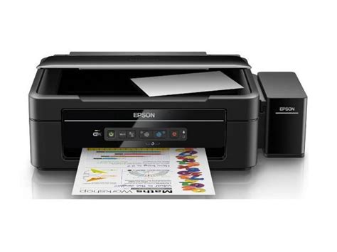 epson l385 all in one wifi inkjet color printer ink tank system c11cf44507 ac 100 240v newegg
