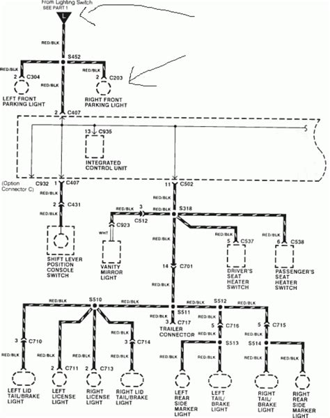 91 honda civic electrical schematics wiring diagrams