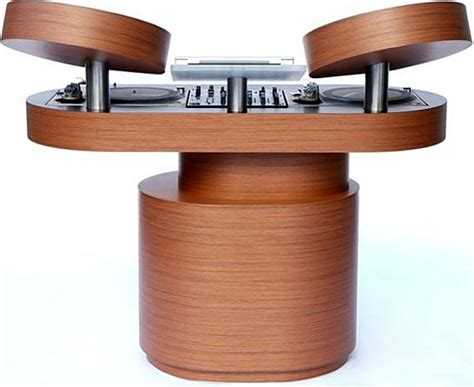 Wooden Dj Table by Rodriguez Dj Tables Gadgetking