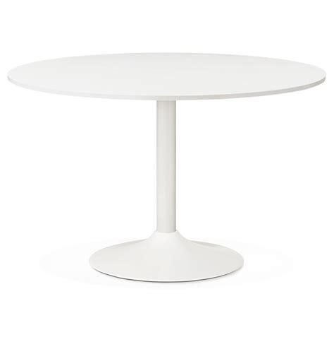 witte ronde eettafel ronde witte bureautafel orlando 120 cm eettafel