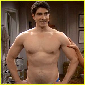 brandon routh goes shirtless in tonight's 'the exes