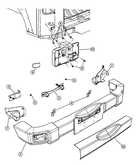 jeep wrangler front drawing jeep wrangler bumper parts diagram jeep free engine
