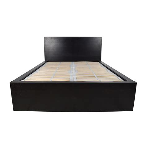 ikea full size bed frame 62 off ikea ikea svelvik full size black bed frame beds