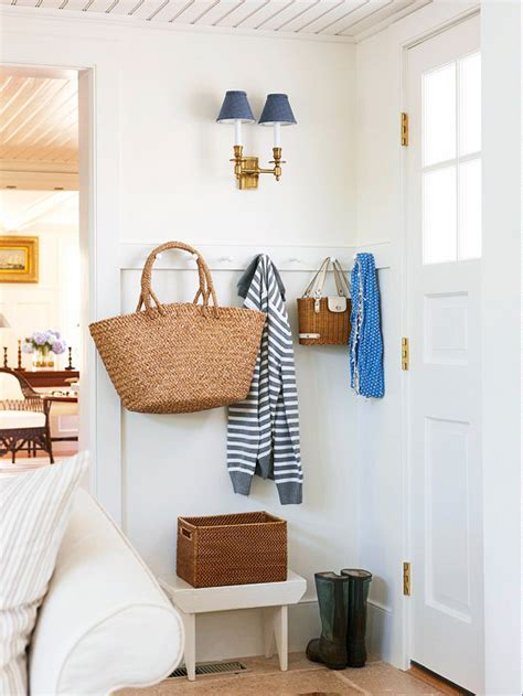 tiny entryway ideas small mud room cottage entrance foyer bhg